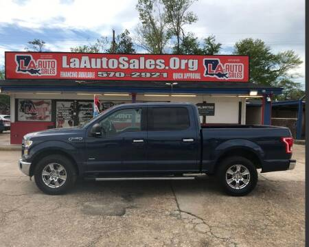 2015 Ford F-150 for sale at LA Auto Sales in Monroe LA