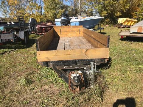 2000 Wood  Trailer  for sale at Buck's Toys & Tires in Isanti MN