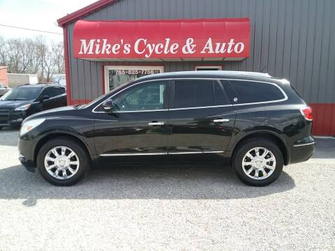 2014 Buick Enclave for sale at MIKE'S CYCLE & AUTO in Connersville IN