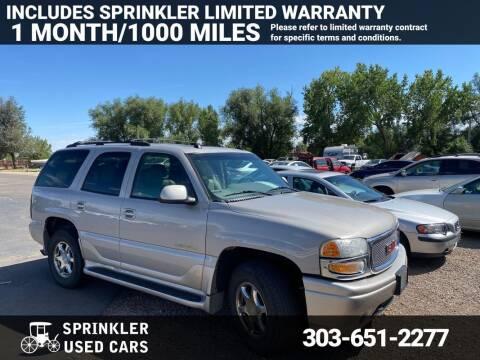 2004 GMC Yukon for sale at Sprinkler Used Cars in Longmont CO