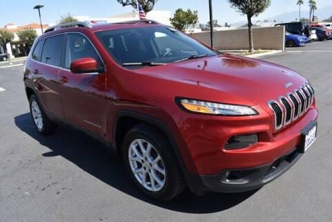 2017 Jeep Cherokee for sale at DIAMOND VALLEY HONDA in Hemet CA