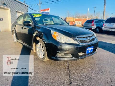 2010 Subaru Legacy for sale at Transportation Center Of Western New York in Niagara Falls NY