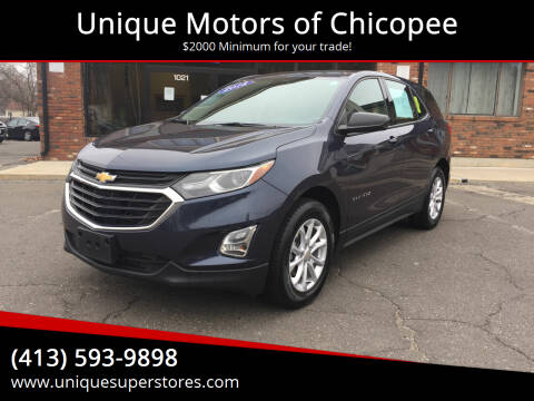 2018 Chevrolet Equinox for sale at Unique Motors of Chicopee in Chicopee MA