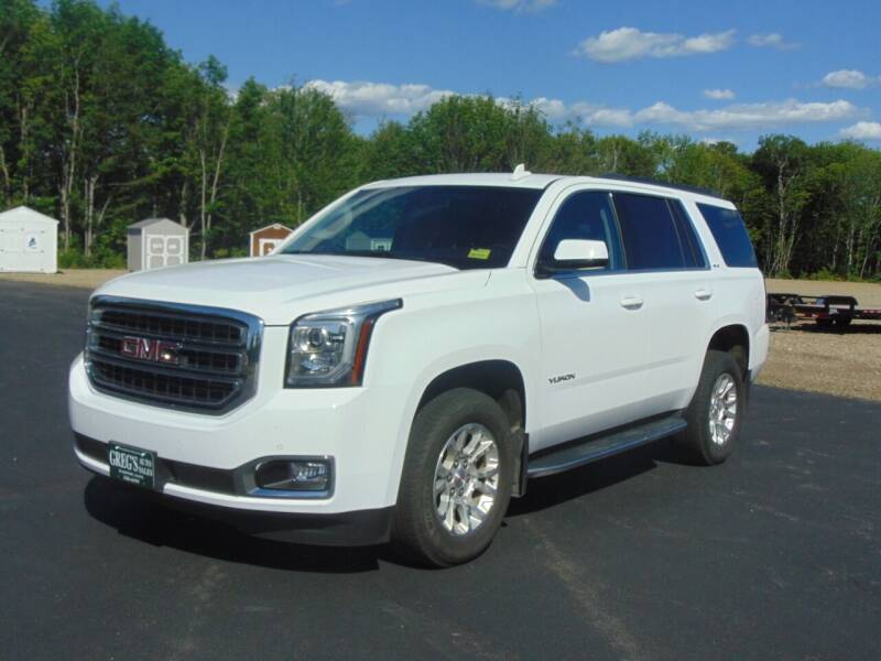 2018 GMC Yukon for sale at Greg's Auto Sales in Searsport ME