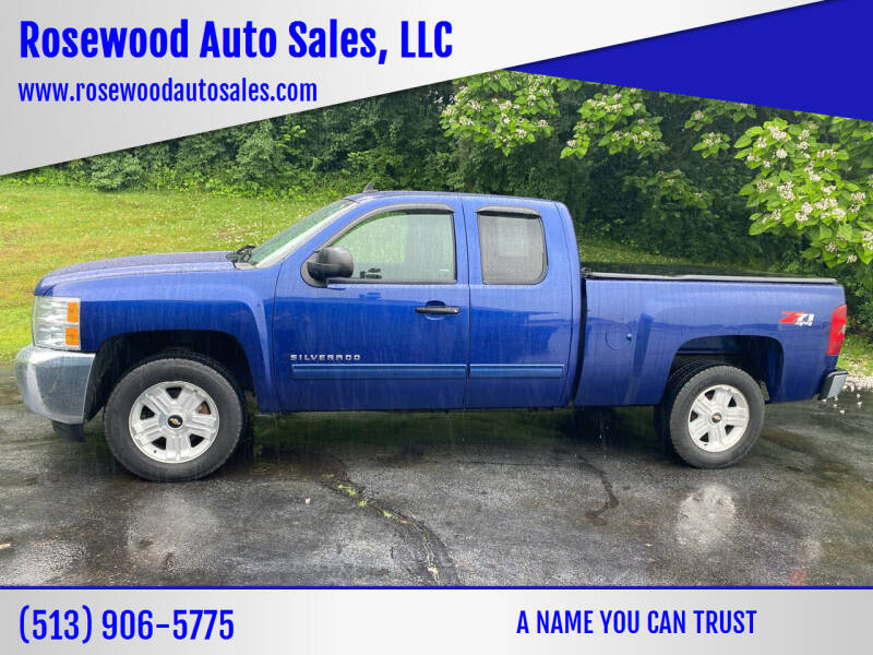 2013 Chevrolet Silverado 1500 for sale at Rosewood Auto Sales, LLC in Hamilton OH