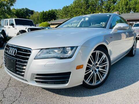2012 Audi A7 for sale at Classic Luxury Motors in Buford GA