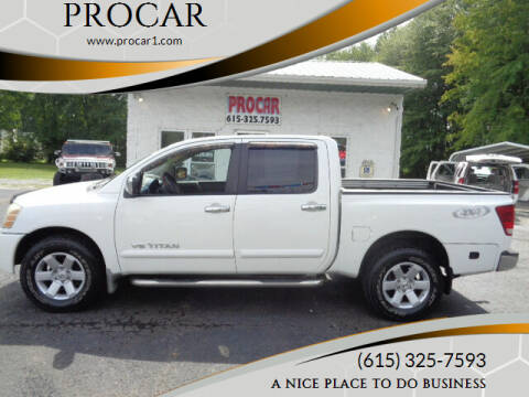 2006 Nissan Titan for sale at PROCAR in Portland TN
