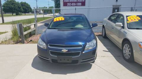 2009 Chevrolet Malibu for sale at Kenosha Auto Outlet LLC in Kenosha WI