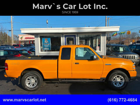 2008 Ford Ranger for sale at Marv`s Car Lot Inc. in Zeeland MI