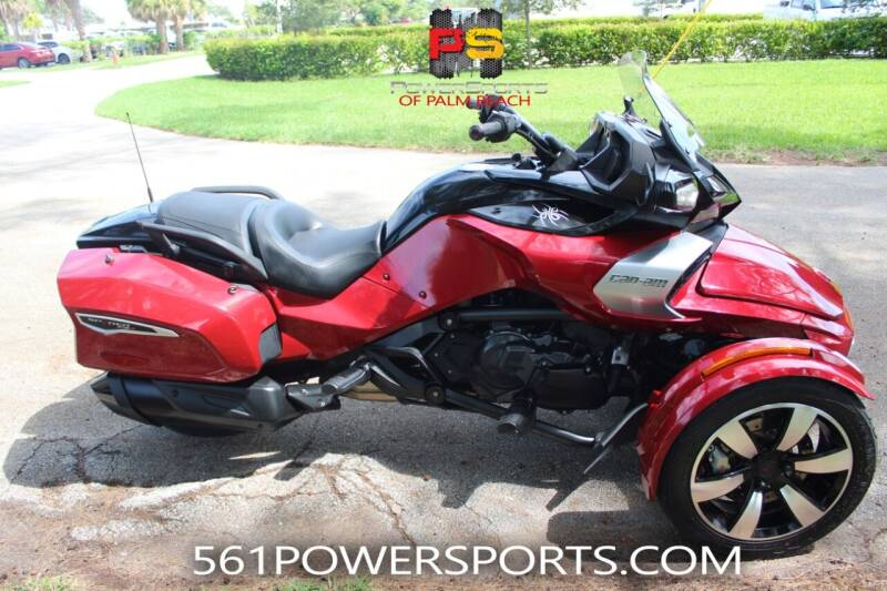 2017 Can-Am Spyder F3-T SE6 for sale at Powersports of Palm Beach in Hollywood FL