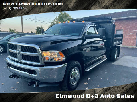 2013 RAM Ram Chassis 3500 for sale at Elmwood D+J Auto Sales in Agawam MA