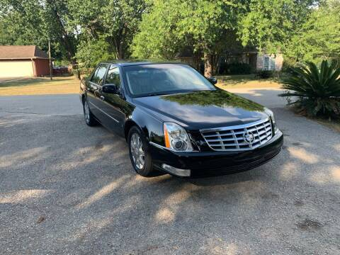 2007 Cadillac DTS for sale at CARWIN MOTORS in Katy TX