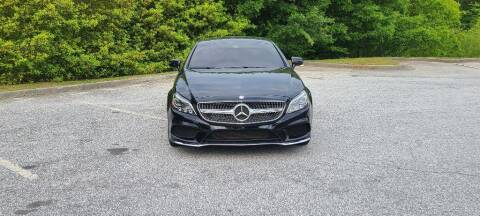 2016 Mercedes-Benz CLS for sale at CU Carfinders in Norcross GA