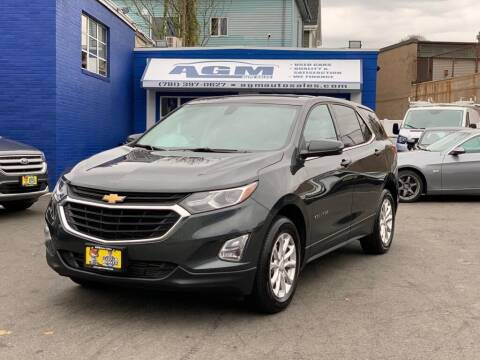 2018 Chevrolet Equinox for sale at AGM AUTO SALES in Malden MA