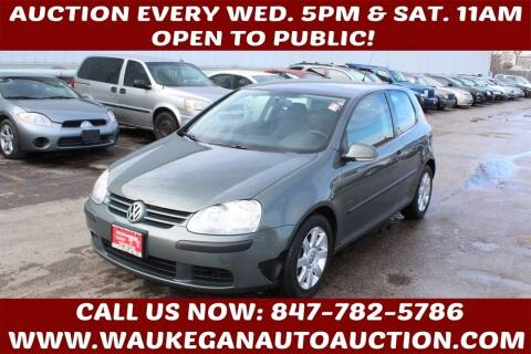 2008 Volkswagen Rabbit for sale at Waukegan Auto Auction in Waukegan IL