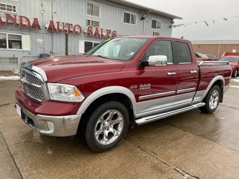 2013 RAM Ram Pickup 1500 for sale at De Anda Auto Sales in South Sioux City NE
