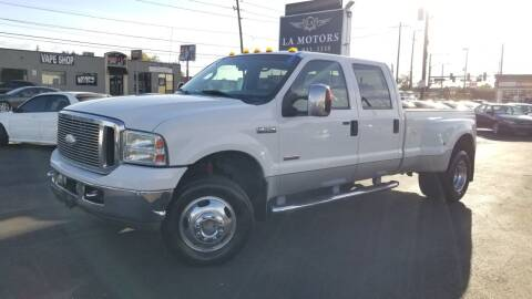 2006 Ford F-350 Super Duty for sale at LA Motors LLC in Denver CO