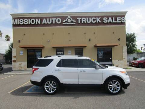2014 Ford Explorer for sale at Mission Auto & Truck Sales, Inc. in Mission TX