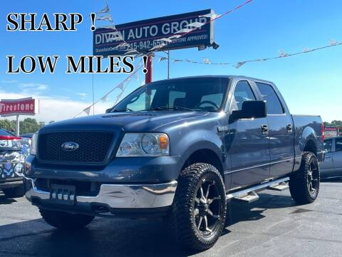 2005 Ford F-150 for sale at Divan Auto Group in Feasterville Trevose PA