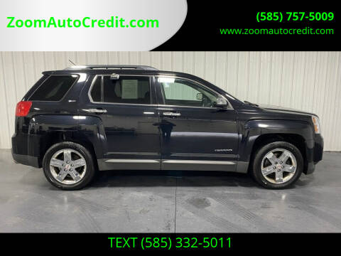2013 GMC Terrain for sale at ZoomAutoCredit.com in Elba NY