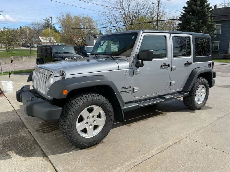 2014 Jeep Wrangler Unlimited for sale at Dussault Auto Sales in Saint Albans VT