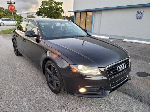 2009 Audi A4 for sale at UNITED AUTO BROKERS in Hollywood FL