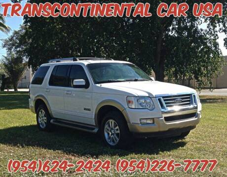 2006 Ford Explorer for sale at Transcontinental Car USA Corp in Fort Lauderdale FL