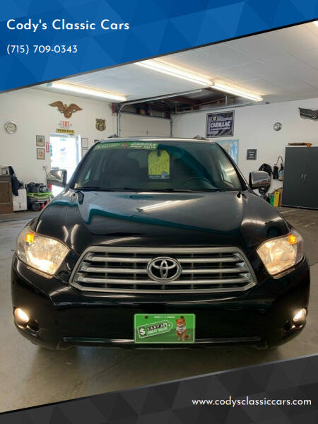 2010 Toyota Highlander for sale at Cody's Classic Cars in Stanley WI