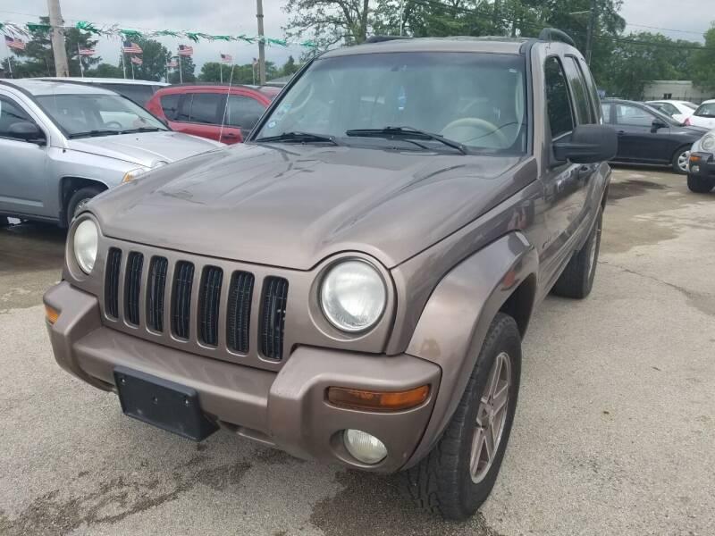 2002 Jeep Liberty for sale at RBM AUTO BROKERS in Alsip IL