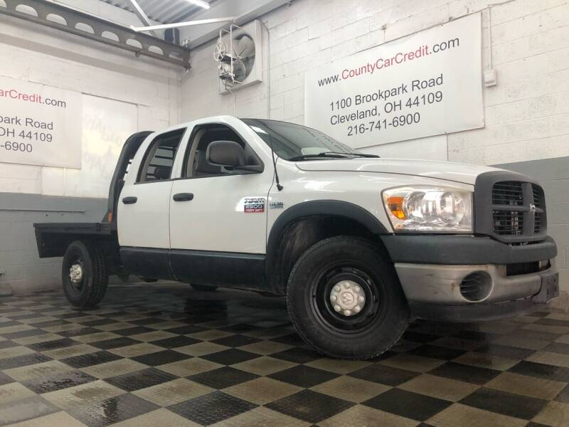 2009 Dodge Ram Pickup 2500 for sale at County Car Credit in Cleveland OH