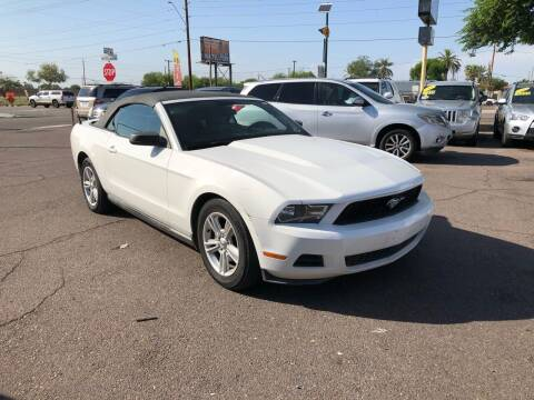 2010 Ford Mustang for sale at Valley Auto Center in Phoenix AZ