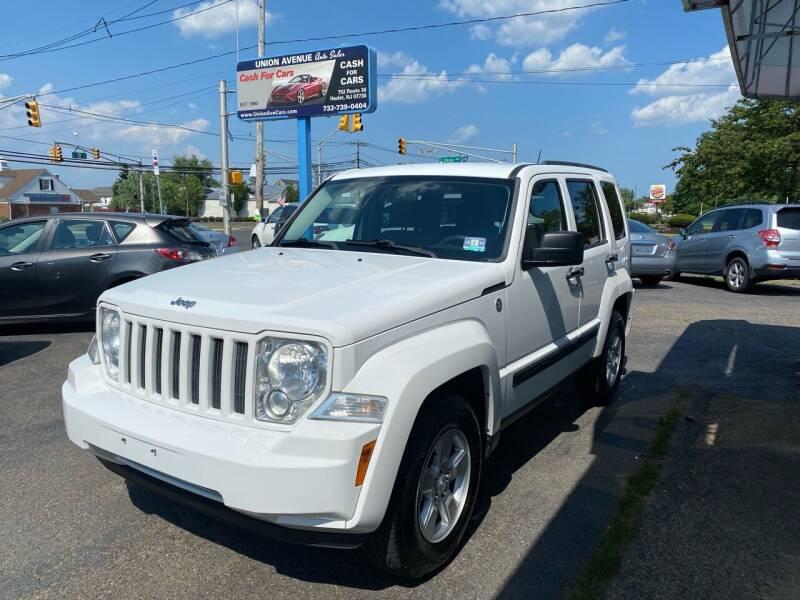 2012 Jeep Liberty for sale at Union Avenue Auto Sales in Hazlet NJ