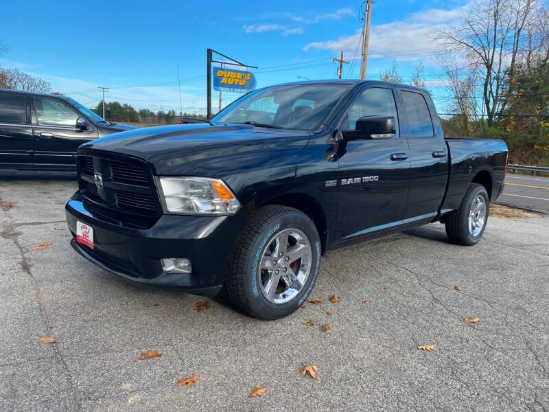 2011 RAM Ram Pickup 1500 for sale at Dubes Auto Sales in Lewiston ME