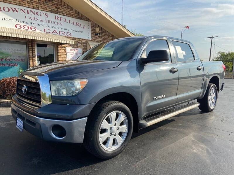 2007 Toyota Tundra for sale at Browning's Reliable Cars & Trucks in Wichita Falls TX