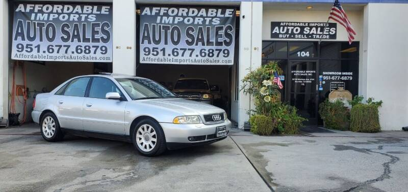 2001 Audi A4 for sale at Affordable Imports Auto Sales in Murrieta CA