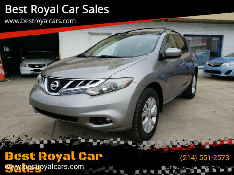 2011 Nissan Murano for sale at Best Royal Car Sales in Dallas TX