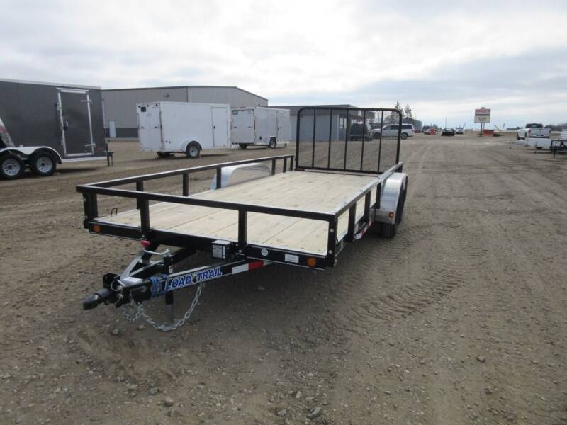 """2021 Load Trail UT 83"""" X 18'  for sale at Nore's Auto & Trailer Sales - Utility Trailers in Kenmare ND"""