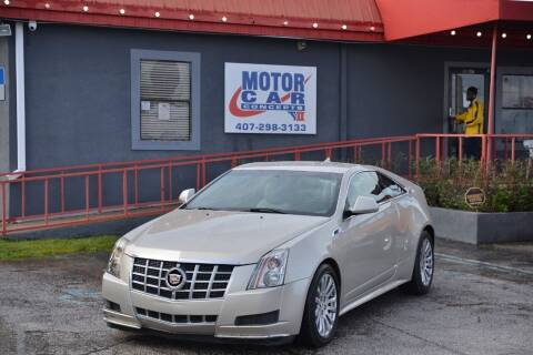 2013 Cadillac CTS for sale at Motor Car Concepts II - Kirkman Location in Orlando FL