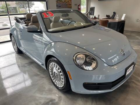 2013 Volkswagen Beetle Convertible for sale at Crossroads Car & Truck in Milford OH