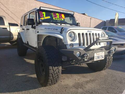 2017 Jeep Wrangler Unlimited for sale at L.A. Vice Motors in San Pedro CA