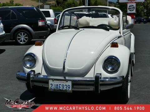 1979 Volkswagen Beetle for sale at McCarthy Wholesale in San Luis Obispo CA