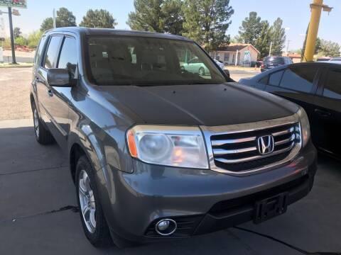 2013 Honda Pilot for sale at Fiesta Motors Inc in Las Cruces NM