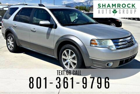 2008 Ford Taurus X for sale at Shamrock Group LLC #1 in Pleasant Grove UT