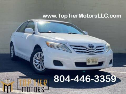 2011 Toyota Camry for sale at Top Tier Motors  LLC in Colonial Heights VA