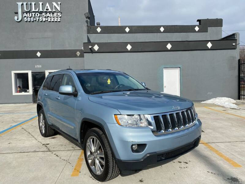 2013 Jeep Grand Cherokee for sale at Julian Auto Sales, Inc. in Warren MI