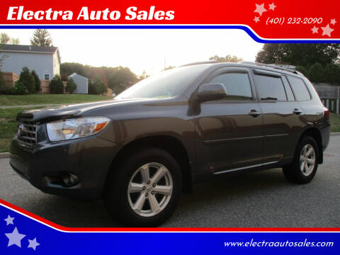 2010 Toyota Highlander for sale at Electra Auto Sales in Johnston RI