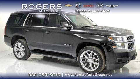 2019 Chevrolet Tahoe for sale at ROGERS  AUTO  GROUP in Chicago IL