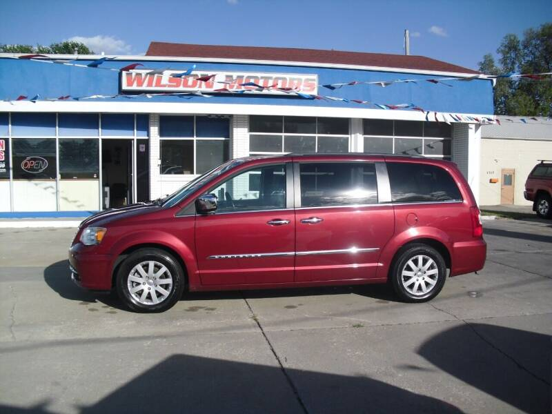 2013 Chrysler Town and Country for sale at Wilson Motors in Junction City KS