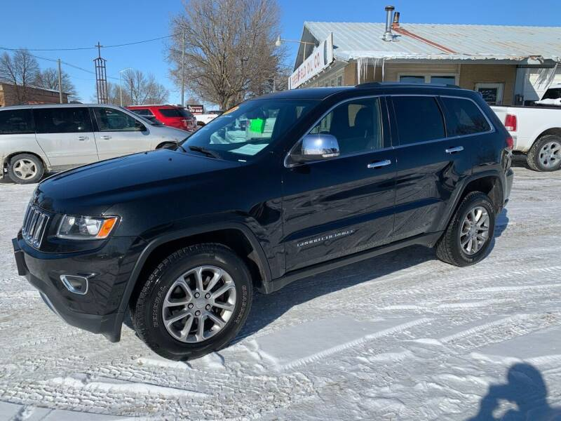 2016 Jeep Grand Cherokee for sale at GREENFIELD AUTO SALES in Greenfield IA