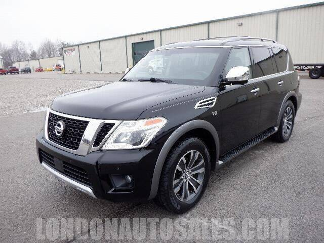 2017 Nissan Armada for sale at London Auto Sales LLC in London KY